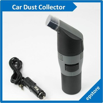 Electric Power Car Dust Brush Vacuum Cleaner Collector retail and wholesale free shipping