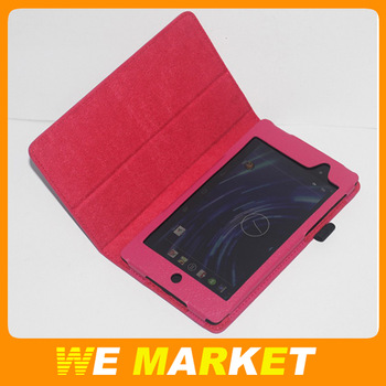 "For Google Nexus II/Google Nexus 2 7"" Tablet Flip Leather Holder Case PU Material 1Pcs China Post Air Mail Free Shipping"