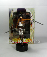 2013 Ackerman Attack on Titan Action Figure Shingeki no Kyojin Figures 14CM Collection  Free Shipping Best Gifts