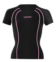 Stepful Sports Compression Baselayer Short Sleeve Wicking Fabric Cycling Jersey Santic N120261
