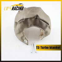 T25 T28 T3 t3t4 GT25 GT30 GT32 GT35 Titanium Turbo Heat Shield Blanket  T3 turbo blanket