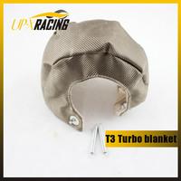 T25 T28 T3 t3t4 GT25 GT30 GT32 GT35 Titanium Turbo Heat Shield Blanket  T3 turbo blanket
