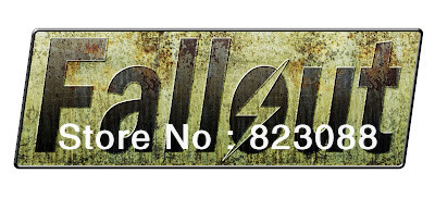 Fallout Car Game Nuclear Fallout Game Sign Car