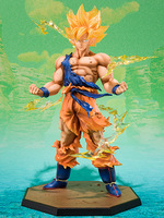 Japan Dragonball Z Figuarts Zero Super Saiyan Son Goku Figure MIB