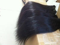 6a Factory price wholesle instock 3pcs lots virgin brazilian hair ,3 pcs /lot, virgin straight hair boudles free shipping
