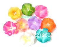 Simulation silk flower color flower hairpin headdress flower false diy decoration   flower heads