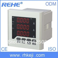 Digital three phase amp  lcd electrical ammeter meter