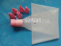 1set(6pcs) Decorative Cakes Pastry Bag Tool Green Good Quality 100% Food Grade Silicone Bag DIY Mold