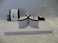 Jewelry Display Showcase Set Jewelry Stand Kit Bridal Jewelry Set Ring Holder