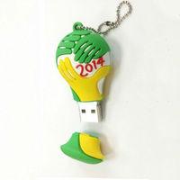 2014 Brazil world cup usb flash Original design New Titan Cup USB Flash Drive 2.0 Memory Stick Pen,FREE SHIPPING