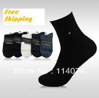 Free shipping Bamboo Fiber men sock, high quality business sock, casual in tube socks,10 pairs / lot