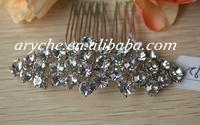 10192 Wholesale New 2014 Crystal Rhinestone Bridal Custom Wedding Jewelry Hair Combs And Girl's Fashion Headdress