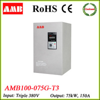 AMB100-075G-T3 75kw frequency converter 220v to 380v