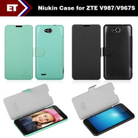 Original Nillkin Flip Case and Screen Protector for ZTE V987/V967s Smartphone