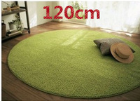 High Quality 120cm Diameter Free Shipping Carpets for Living Room Rug and Carpets Circle Mats Computer Cushion Yoga Mat 9 Color