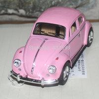 Brand New KINGSMART 1:32 Scale 1967 Volkswagen Vw Classic Beetle Bug Diecast Metal Car Model In Stock