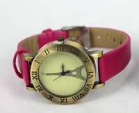 MIN-ORDER $10 Vintage watch Effiel Tower retro wrist watch women quartz watches free shipping