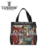 FREE SHIPPING jacquard cloth one shoulder cross-body handbag