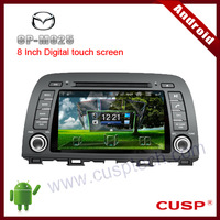2-din android car radio car mp3 player with dvd gps navigation,with WIFI,3G,Bluetooth,IPOD,TV,USB FOR MAZDA CX-5 2012-