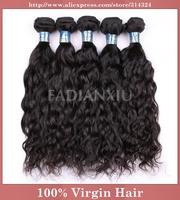 "Queen Hair Products Brazilian Deep Wave,100% Human Virgin Hair Mixed Lengths(8""-28""), Unprocessed Natural Hair Extensions"