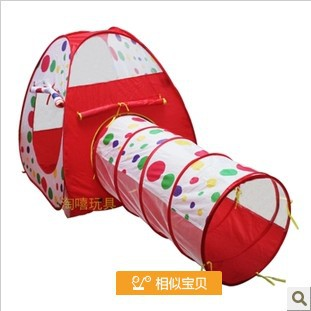 Free Shipping indoor and outdoor child Baby tent ball tunnel design house for kids Children Folding Game Room PLAYHOUSE