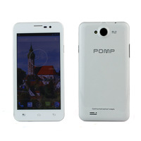 "POMP W99A 1GB RAM+4GB ROM MTK6589 1.2Ghz Quad Core 5"" HD 1280x720 Android 4.2 P1007B4 Smart Phone 8m Camera White"