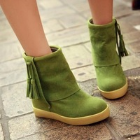 Newly styler women's Crocodile pattern sneakers genuine leather wedge boots,Casual shoes Ankle boots Isabel marant,50