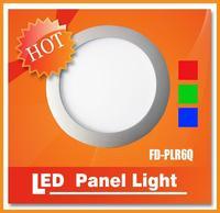 DHL free shipping 6inch 200mm 10W RGB Round Panel Light SMD 5050 led panel light