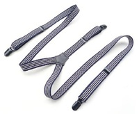 new Fashion Unisex elastic weave suspenders belt men's & ladies' fahion belt, British style Elastic braces Free Shipping!