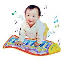 Baby Kid Child Piano Music Fish Animal Mat Touch Kick Play Fun Toy Gift New(China (Mainland))