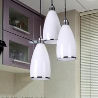 Modern brief restaurant lights fashion pendant lamp three head pendant light bar lamp lighting led lighting