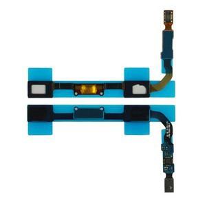 NEW Menu Home Button Keypad Proximity Light Sensor Power Flex Cable Ribbon For Samsung GALAXY SIV S4 GT-I9500(China (Mainland))