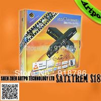 Free Shipping Satxtrem s18 hd Full HD+CA+LAN port IPTV receiver