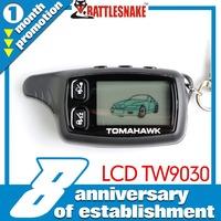 Factory Wholesales in stock Original Tomahawk TW9030 remote for 2 way car alarm sytem Tomahawk alarm car