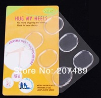 6pcs/pack Round Silicone Gel Heels cushion Womens Grips Liners Pads Ladies Sandals Shoes Foot care protecter  wholesale