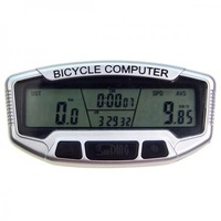 Digital LCD SUNDING Electronic Bicycle Computer / Speedometer with Stopwatch