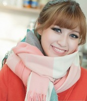 Scarf ultra long autumn and winter yarn scarf cape 5
