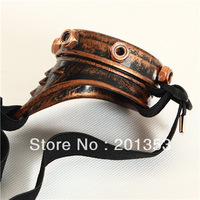 New Vintage Single Eyed Cyclops Steampunk Goggles Costume Cosplay Accessories