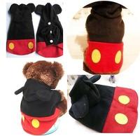 Pet Puppy COAT apparel Mickey avant-garde Clothes Dog Hoodie Coat clothes WT04