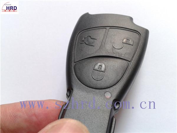 keys for mercedes Benz 3 buttons smart key case smart key programmer for mercedes benz(China (Mainland))