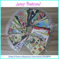 60 pcs 40 Different Style Friends Festival Creative Greeting Cards Cute Jetoy Cat Korea Style School Christmas Postcard