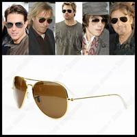 2013 New Brand Design Arrival Men Women Unisex Fashion Sunglasses Aviator rb High Quality metal Sunglasses Free Shipping