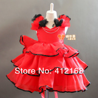 Flower Girl Dresses Sale! princess formal puff  layered birthday  children's Party Dress