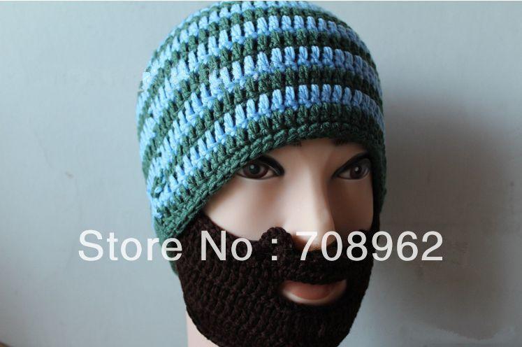 Beard Beanie Pattern Knit Free Pattern Knitted Hat Beard