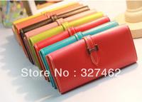Fashion Women Faux PU Leather Bifold Card Holder Handbag Clutch Bag Purse Wallet
