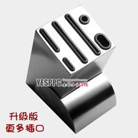 Stainless Steel Knife Holder Block Set Knife Kitchen Tool Holder Kitchen Shelf Stainless Steel Knife Ceramic Knife