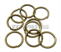 Free shipping!!!Iron Closed Jump Ring,personality, Donut, antique bronze color plated, nickel, lead & cadmium free, 1x9mm