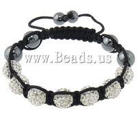 Free shipping!!!Rhinestone Shamballa Bracelets,2013 new european and american style, Rhinestone Clay Pave