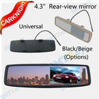 4.3 inch TFT-LCD rear view monitor,suitable for reversing camera car rearview mirror monitor