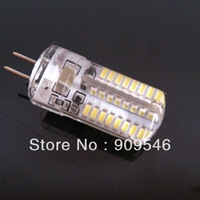 4W G4 LED Bulb Lamp 3014 SMD 64LEDS Light Bulb Whie/Warm White 220-240V LED Lighting 10PCS/LOT